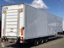 Sættevogn kassevogn Desot GESLOTEN SEMI / LAADKLEP / BPW-ASSEN
