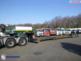 Semi remorque Faymonville 4-axle lowbed trailer STBZ-6VA / 89 t / extendable 11.7 m porte engins occasion