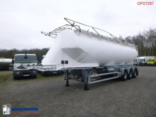 Feldbinder Powder tank alu 56 m3 semi-trailer used tanker