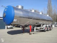 Semi reboque Magyar S39SD1 / 4 KAMMERN cisterna usado