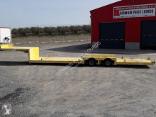 Masso surbaissé semi-trailer used flatbed