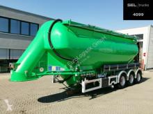 Semirimorchio cisterna polverulenti Feldbinder EUT 37.3 / 7315/A/2 - 37m3 /Lenkachse/Alu-Felgen