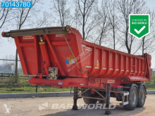 Netam 17m3 Steel Tipper semi-trailer used tipper