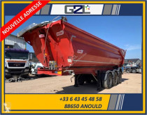 Semi reboque Benalu CARGOTRACK ULTRA 3 ESSIEUX 27m3 *ACCIDENTE*DAMAGED*UNFALL* basculante para obras acidentado