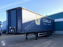 Semi remorque Kässbohrer XS / RS CURTAINSIDE WITH COILHOLE (SAF AXLES / CODE-XL / SLIDING ROOF) rideaux coulissants (plsc) occasion