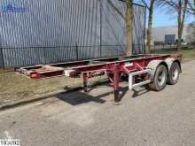 Semiremorca transport containere Kohler Container 20 FT, Steel Suspension