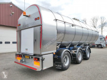 Semi reboque cisterna Burg BPO 1530 RGZXX - FOOD - 35.400L - Pump Hoses -2 liftaxle - 2 steering axle (O541)