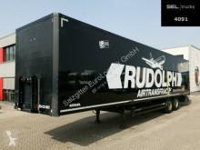 Kögel box semi-trailer SP 18 / Luftfracht / Rollenbett / Beschädigt