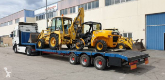 Leciñena SRG 3ED semi-trailer used heavy equipment transport