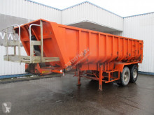 Semi remorque Fruehauf Steel tipper trailer , , 4 tyres , Drum brakes , Spring suspension benne occasion