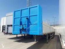 Pezzaioli dropside flatbed semi-trailer SCT63U