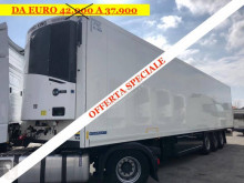 Krone semi-trailer used refrigerated