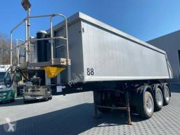 Langendorf tipper semi-trailer SKA 24/30 Kippmulde Stahl-ALU- BPW-Schütte