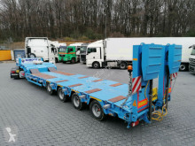 Komodo Komodo KMD4- 4 Achs Tieflader- Lift-Lenk-Winde semi-trailer new heavy equipment transport