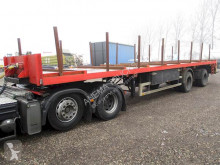 Ackermann PWS 20 LZG semi-trailer used flatbed