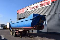 Kaiser BENNE TP TONNEAU semi-trailer used half-pipe