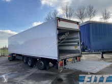 Schmitz Cargobull gestuurde geisoleerde oplegger met 3T achterklep ON37BS semi-trailer used insulated