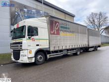 Lastbil med släp Middenas skjutbara ridåer (flexibla skjutbara sidoväggar) begagnad