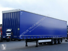 Semi remorque Krone CURTAINSIDER /MEGA/ LIFTED AXLE&ROOF/PERFECT/ savoyarde occasion