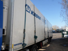 Krone DUOPLEX STEEL CARRIER VECTOR 1950 semi-trailer damaged multi temperature refrigerated