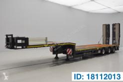 Semi remorque Broshuis Low bed trailer* porte engins occasion