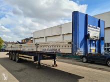 Van Hool flatbed semi-trailer Platform met borden