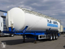 Semirimorchio cisterna polverulenti Feldbinder 334C*Alufelgen*63m³*TÜV*BPW*