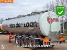 Semi remorque citerne produits chimiques Burg BPO 12-24 Z Chemie Tank 31.000 Ltr / 3 Comp / ADR