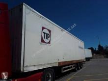 Semirremolque Samro FOURGON 3 ESSIEUX MEGA PORTE VETEMENT furgón Portatrajes usado
