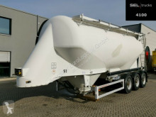 Feldbinder EUT 37.3 / 37 m3 / Alu-Felgen semi-trailer used powder tanker