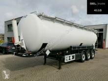 Semirimorchio cisterna polverulenti Feldbinder KIP 52.3 / 52 m3 / Kippsilo / Alu-Felgen