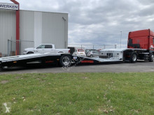 Trailer Aksoylu Truck Brancard Machine Auto Transporter Trailer tweedehands autotransporter