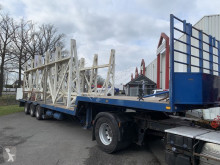 Semi remorque porte engins O.S.K.3.17.27 wanden transport oplegger