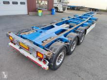 Semi remorque porte containers Schmitz Cargobull SGF*S3 - 3 assen SAF - Discbrakes - 12/2021 APK (O568)