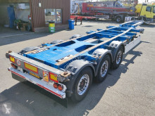 Trailer Schmitz Cargobull SGF*S3 - 3 assen SAF - Discbrakes - 10 units in stock! 07/2021 APK (O566) tweedehands containersysteem