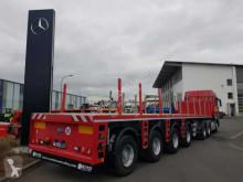 Nooteboom RINO Bt 65 04 Ks Ballast-Auflieger 4 Lenkachsen semi-trailer used flatbed