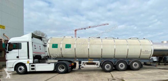 Cardi 33-4, BPW- TOP, ATP semi-trailer used food tanker
