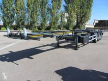 Sættevogn Lecitrailer Charriot coulissant containervogn ny