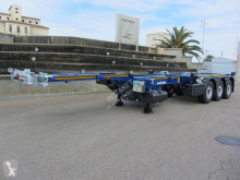 Sættevogn Lecitrailer Multiconteneur extension pneumatique containervogn ny