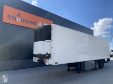 Semi remorque Pacton city-reefer, Carrier Vector 1800 D/E, taillift 2.000kg, NL-trailer frigo mono température occasion