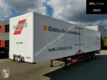Semi remorque fourgon Schmitz Cargobull SKO 18 / 2 Achsen / Rolltor !