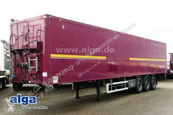 Knapen moving floor semi-trailer K 200, 82m³, 6mm Boden, Funk, Staukasten, Plane