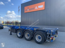 Semiremorca Groenewegen 20FT/30FT ADR (EX/II, EX/III, FL, AT), ALCOA, NL-Chassis transport containere second-hand
