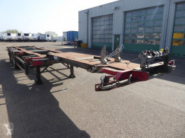 Semiremorca Groenewegen 45CC-16-27TUN,multi 20,30,40,45 voet,BPW transport containere second-hand