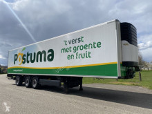 Krone 3-ASSIGE KOEL/VRIES TRAILER CARRIER MAXIMA STUURAS KLEP APK semi-trailer used mono temperature refrigerated