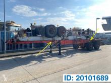 Fruehauf Skelet 2 x 20-30-40 ft semi-trailer used container