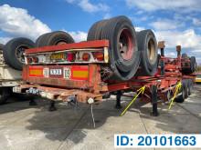 Semi remorque Fruehauf Skelet 2 x 20-30-40 ft porte containers occasion