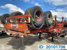Renders container semi-trailer Skelet 20 ft