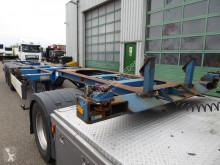 Semi remorque porte containers D-TEC UL 9401,20,30,40,45 voet,schuiver