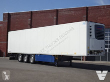 Návěs Schmitz Cargobull Vleeshang / Hooks / Rohrbahnen chladnička mono teplota použitý
